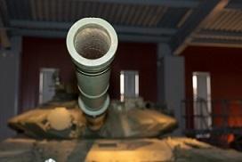 A tank barrel