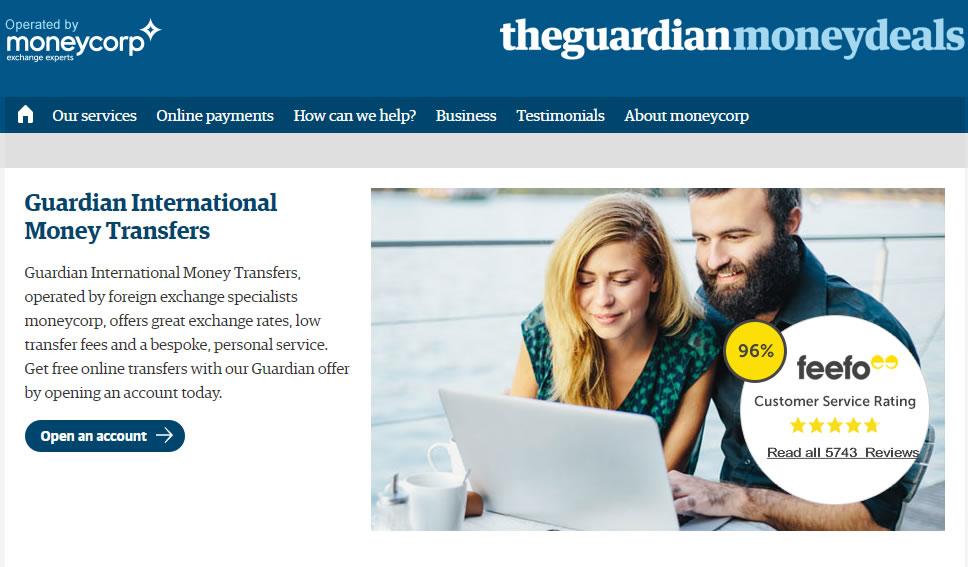 guardian money transfer screenshot